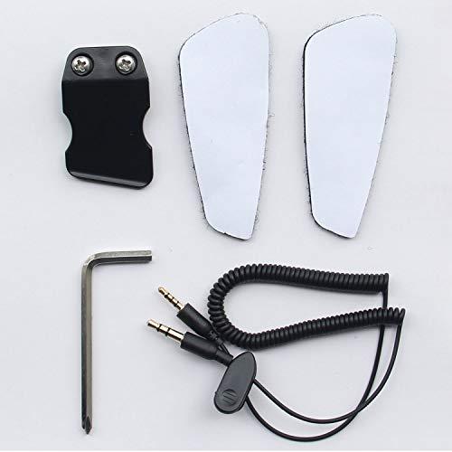 Accesorios de Instalación para BT-S2 Intercomunicador Casco Moto Auriculare