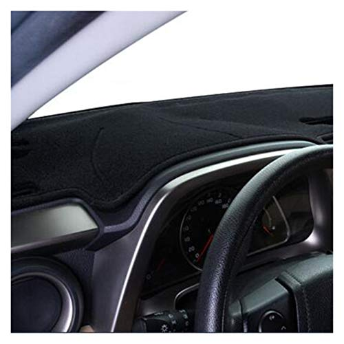 wjyfexble Coche Automóvil Dash Mat Dashboard Pad Alfombra Anti-UV Anti-Slip Dashboard Cover for Honda Civic 2016 2017 2017 2017 hnwyj (Color Name : Black)