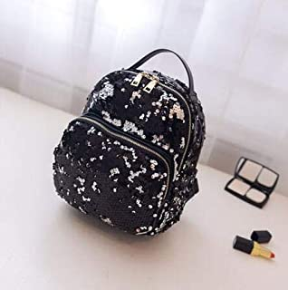 Bling Sequins Backpack Women School Bags PU Princess Bag All-Match Small Travel Mochila KL131