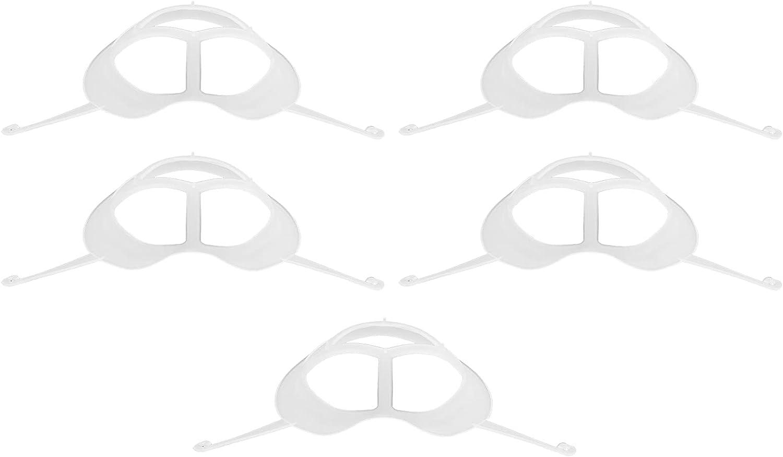 QIRG Marco de Soporte Facial, reutilizado, más Seguro y sin Preocupaciones Soporte Interno Facial de Larga duración para Proteger la Boca