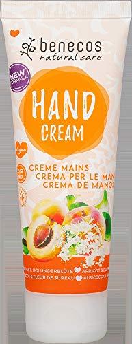 benecos Bio benecos Hand Cream Aprikose & Holunderblüte (6 x 75 ml)