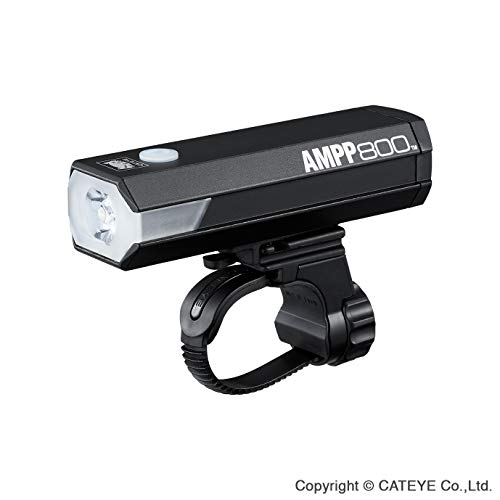 CatEye Ampp 800 Front Luz para Bicicleta, Unisex Adulto, Negro, Talla única