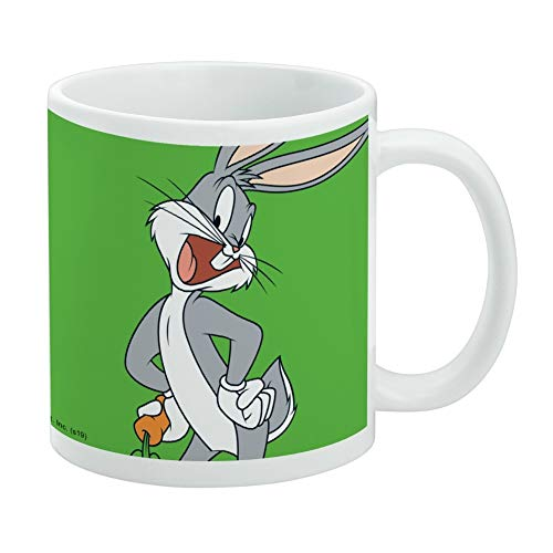 Looney Tunes Bugs Bunny White Mug