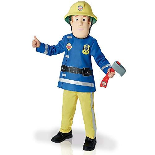 Rubie's 3610901 M - Fireman Sam Deluxe Child Kostüm
