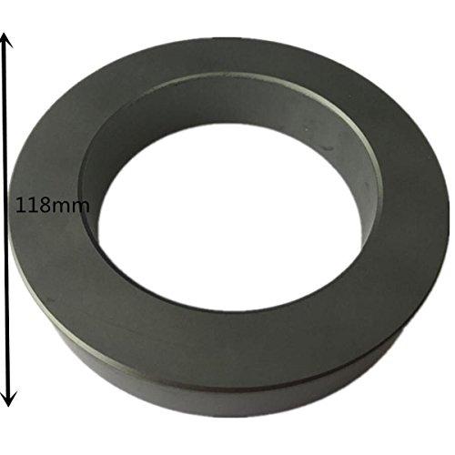 1unit 118X80X20mm Ultra Large ferrite core for Transformer Choke Isolator or Cord Filter ferrite Ring