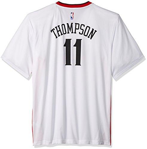 adidas Réplica de Camiseta de Baloncesto de Klay Thompson #11, del Equipo Golden State Warriors de la NBA, Hombre, 7818-Men-Stretch, Stretch (White), Medium