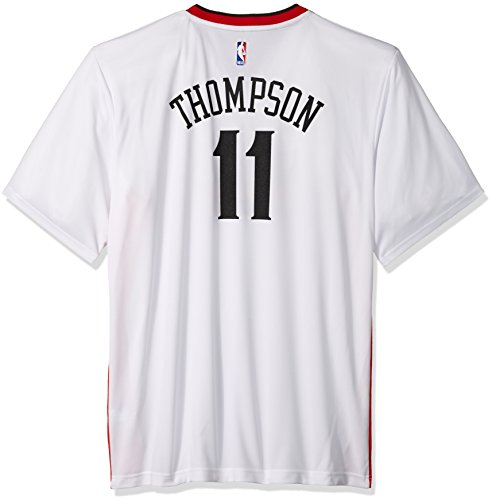 adidas Réplica de Camiseta de Baloncesto de Klay Thompson #11, del Equipo Golden State Warriors de la NBA, Hombre, 7818-Men-Stretch, Stretch (White), Medium