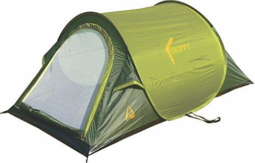 Best Camp Pop Up Zelt Skippy 2 - Tiendas de campaña de túnel, Color Verde, Talla Standard