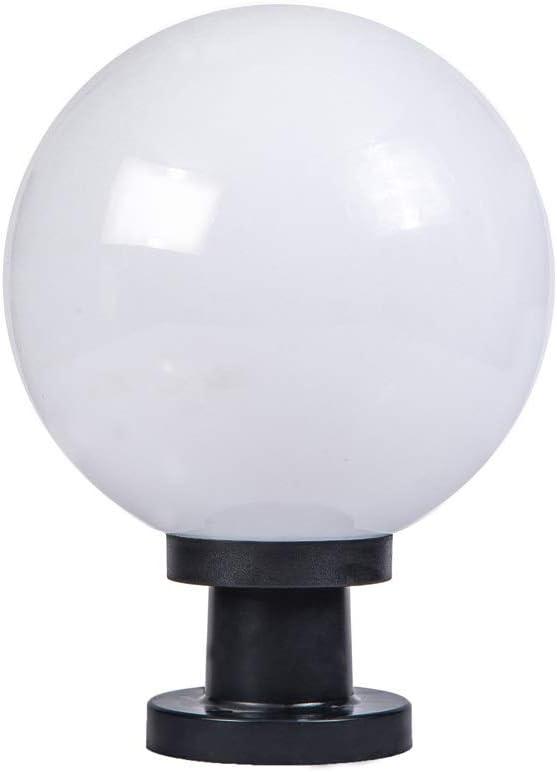 ZZYJYALG Creative Fashionable half IP55 Waterproof Outdoor Lamps Pillar Post Rain