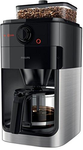 Philips HD7767/00 Ekspres do Kawy, Tworzywo Sztuczne, Stal Nierdzewna, 1000 W, 1,2 L, Stal nierdzewna/Czarny
