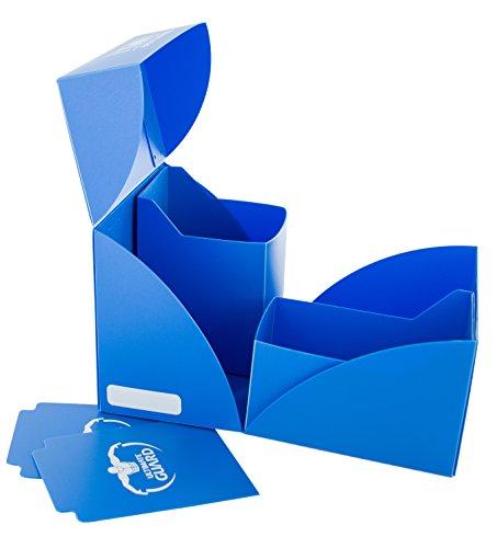 Ultimate Guard Twin Deck Case 160+ Caja de Cartas Tamaño Estándar Azul Real