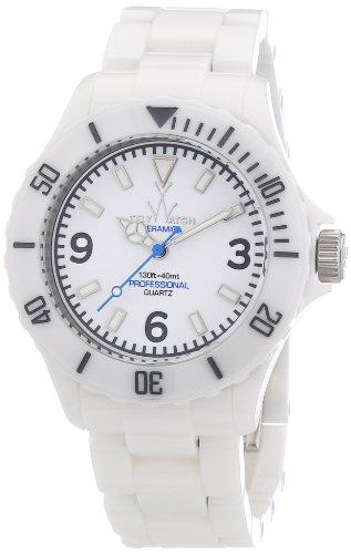 ToyWatch Unisex-Armbanduhr Analog Keramik CM01WH