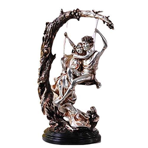 AIJOAN-BJ Statuen Dekoration Statuen Und Skulpturen Retro Figur Statue Europäischen Stil Liebhaber Trapez Modell Hauptdekorationen