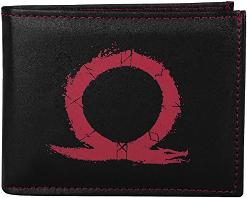 Gaya God of War Wallet Monedero 19 Centimeters Multicolor (Black/Red)