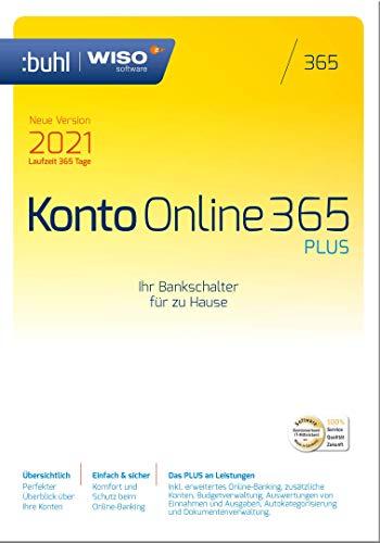 WISO Konto Online Plus 365 (aktuelle Version 2021) [Online Code] | PC | PC Aktivierungscode per Email