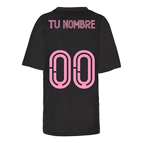 Camiseta - Personalizable - Producto Oficial del Real Madrid para Hombre, 2020/2021,...