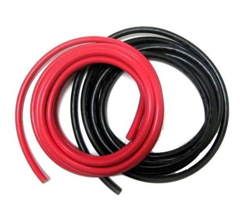 フルート上流のつなぐKIVケーブル 38SQ 電気接続用ケーブル 赤?黒2本セット