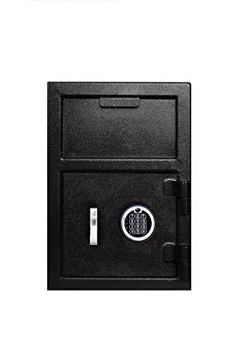 Templeton Standard Depository Safe - Electronic Keypad Combination & Key Backup, 1.12 CBF