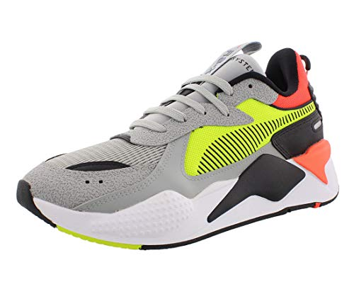 PUMA RS-X Shoe, High Rise-Yellow Alert, 10 M US