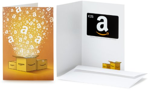Amazon.de Geschenkkarte in Grußkarte - 25 EUR (Alle Anlässe)