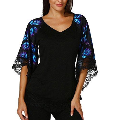 FAMILIZO Camisetas Mujer Verano Blusa Mujer Elegante Camisetas Mujer Fiesta Algodón Tops Mujer Fiesta Camisetas Sin Hombros Mujer Tops Mujer Fiesta (L, Morado)