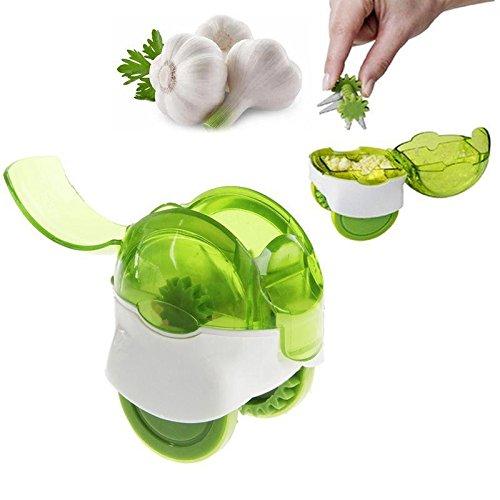 Mini Chef'n Passe au lave-vaisselle d'ail de cuisine Outil facile d'utilisation 2 Couleur 2.54cm, 1cm Green