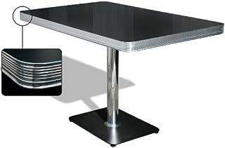 Bel Air Table de salle à manger, table de dîner, table de bureau, table cantine, table de bistrot (Blackstone)