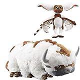 Avatar The Last Airbender 18'(50cm) Appa & 11'' (28cm) Momo Plush Set of 2 pcs for Kids Christmas New Year Gift Birthday Gift