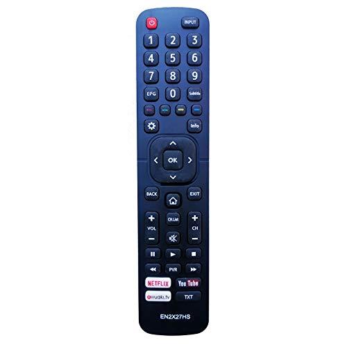 Yantai Remote Control for HISENSE EN2X27HS H43MEC3050 HE50K3300 HE75K7000UXWTS3D1
