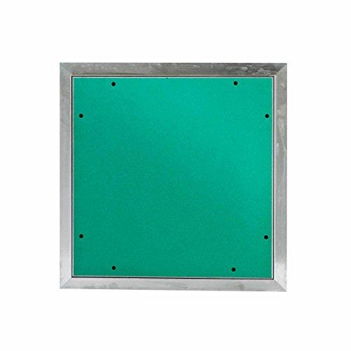 MW multi werkzeug Revisionsklappe 600 x 600 mm mit 12,5mm GK-Einlage imprägniert für Feuchtraum geeignet Aluminium-Rahmen 60 x 60 cm