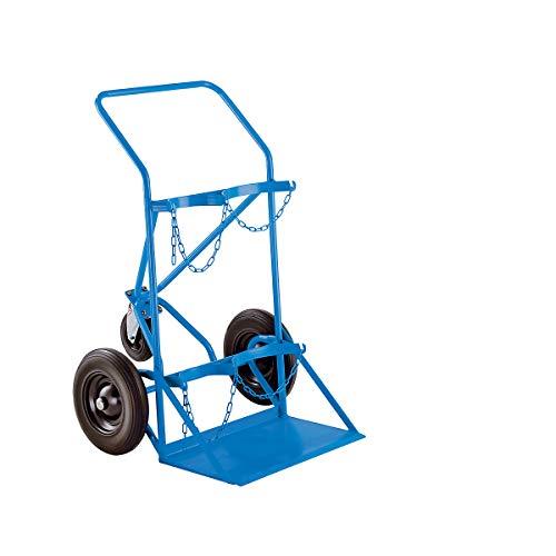 Chariot roues gonfl/ées pour bouteille de gaz 6//13 kg diam/ètre 220 mm tous terrains