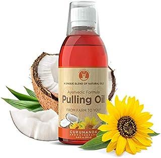 Sponsored Ad - GuruNanda Oil Pulling Oil, Natural Mouthwash, Ayurvedic Blend of Coconut, Sesame, Sunflower, & Peppermint O...