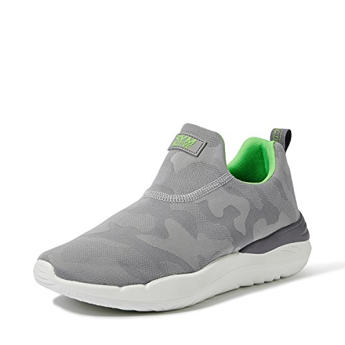 Amazon Brand - Symbol Men's Grey Sneakers-8 UK/India (42 EU) (AZ-YS-205 B)