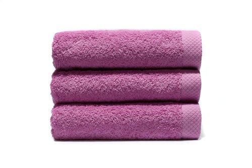 Lasa Pure Juego 3 Toallas, algodón 100%, Lavanda, Baño (100 x 150 cm), Lavabo y tocador