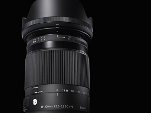 SIGMA18-300mmF3.5-6.3DCMACROOSHSM ContemporaryC014 CanonEF-Sマウント APS-C/Super35