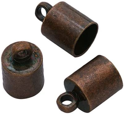 Wholesale Brass Inexpensive End Caps Red Copper of 6mm 30 10 Barrel trust Packs