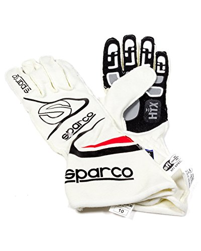 Sparco S001352A10NR Handschuhe Pfeil Kg7 Neri Co Tg 10, rot