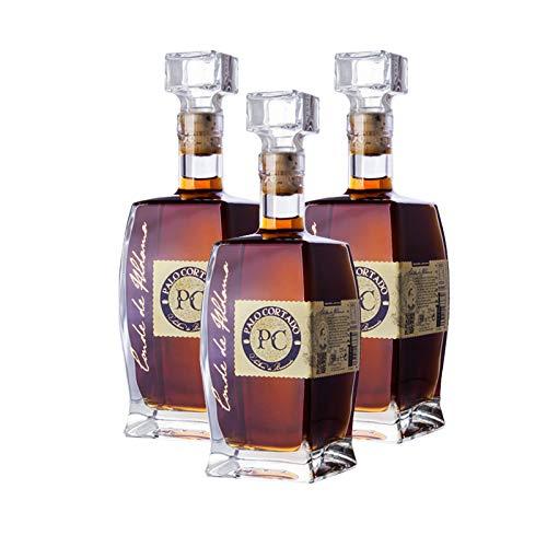 Vino Palo Cortado Conde de Aldama de 50 cl - D.O. Jerez-Sherry - Bodegas Yuste (Pack de 3 botellas)