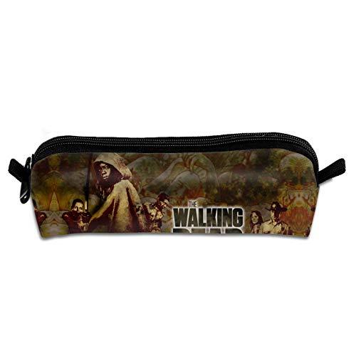 Zombies Fantasy The Wal-King De-ad Onslaught Sceriffo Rick a New Frontier Hunter Daryl Matita BagOffice portapenne portafogli in tessuto 3D per ragazzi, ragazze, bambini, studenti, ufficio