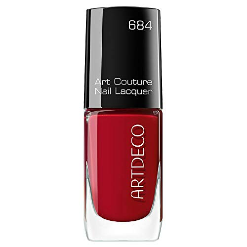 ARTDECO Art Couture Nail Lacquer, Nagellack rot, Nr. 684, lucious red