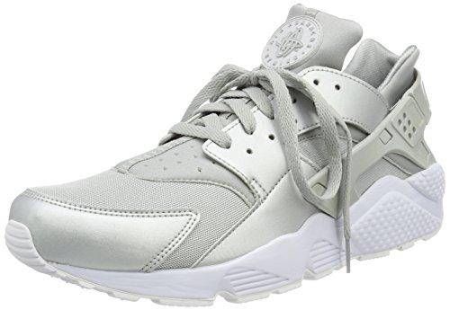 Nike Herren Air Huarache Run Premium Sneaker, Silber (Armory Navy/Light Armory Blue-Armory Blue), 47 EU