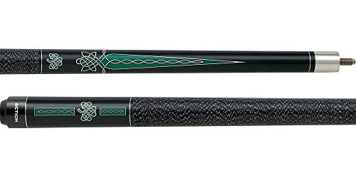 ACTION Impact IMP20 Irish Green Celtic Knot Cross Pool/Billiards Cue Stick