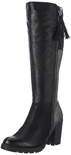 MARCO TOZZI Damen 25603 Stiefel, Schwarz (Black Ant.Comb), 38 EU