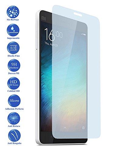 Todotumovil Protector de Pantalla Xiaomi MI4I MI4C MI 4I de Cristal Templado Vidrio 9H para movil