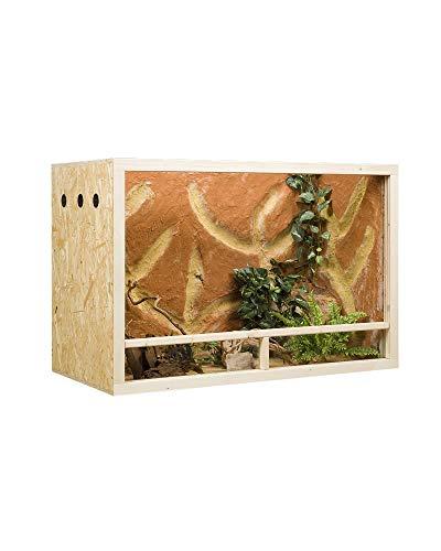 Holzkonzept OSB-Terrarium 150 x 60 x 60 cm Seitenbelüftung