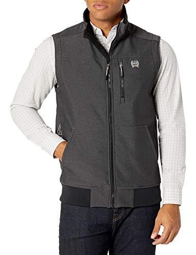 Cinch Men's Concealed Carry Bonded Vest, Black, M
