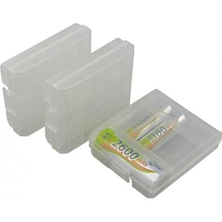 Bbt 13 Batteriebox Akkubox Aufbewahrung Für Aa Aaa Elektronik