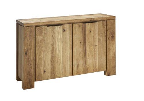 Schösswender Sideboard Oviedo 2-türig Wildeiche massiv Breite 130 cm