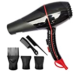 IDOLESHOP® Salon Grade Professional Hair Dryer Hair Dryer With Comb Reducer (4000 Watts)