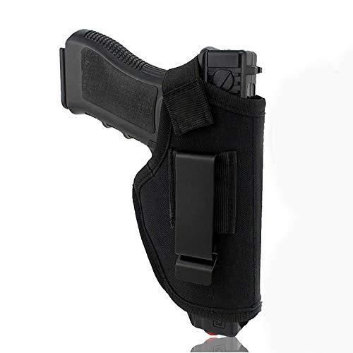 YUJIA Pistolera Pistola - Pistola Táctica Estuche Cinturón Clip De Metal Estuche para Diestros - Soporte Airsoft Caza Pistolera Accesorios